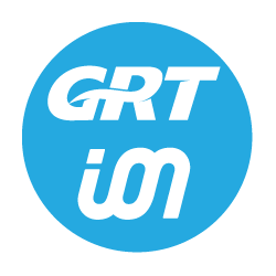 Icon with GRT and ION logos