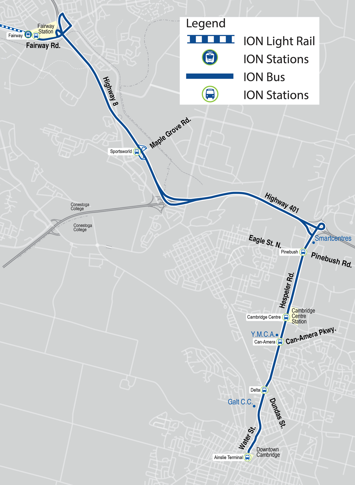 Bus service changes for ION launch - Grand River Transit