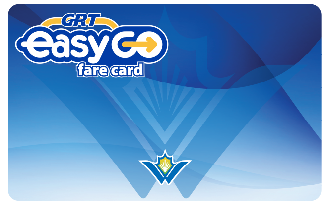 EasyGO fare card - adult and concession