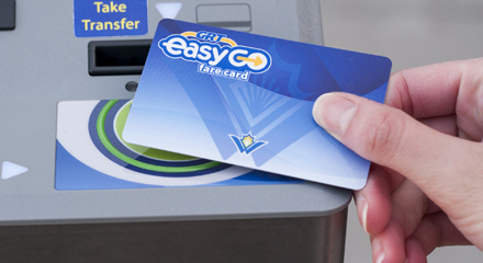 EasyGO fare card - Grand River Transit