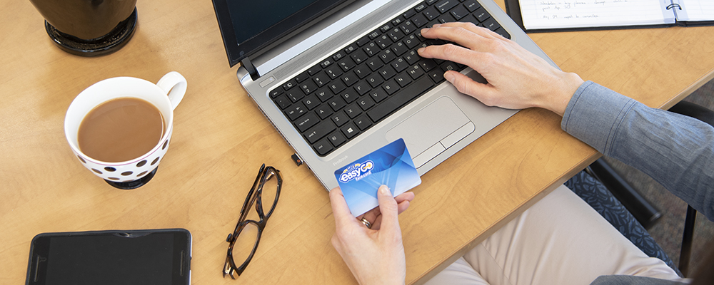 Manage your card online