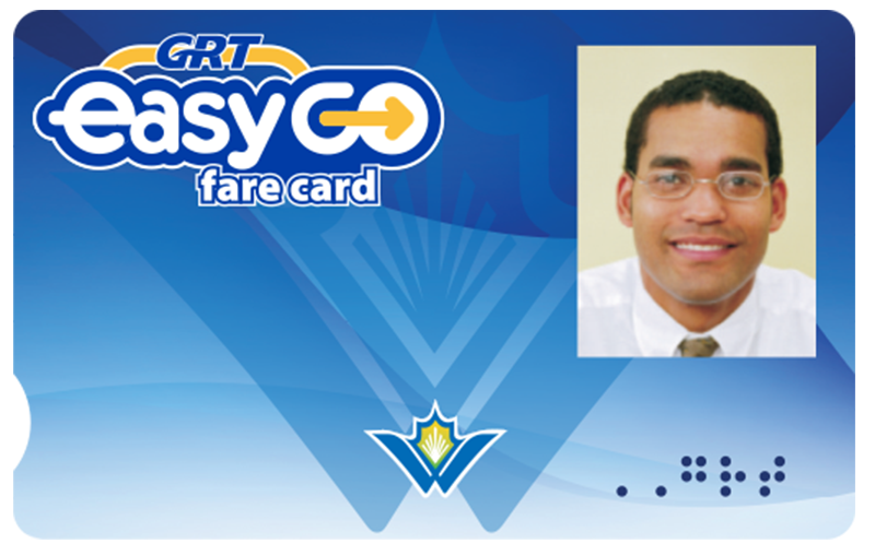 EasyGO fare card for visually-impaired customers